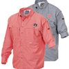 Longsleeve Gingham Windshooter Double Front Pocket Drake