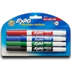 4 Count Expo Marker, Fine Tip