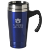 AU Alumni Travel Mug with Handle, Blue