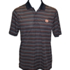Interlocking AU Resolve Small Stripes Polo