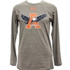 Under Armour Triblend Eagle Thourgh A Long Sleeve Tee
