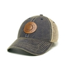 Leather Engraved API Seal Mesh Cap