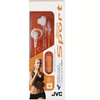 JVC Gumy Sport Headphones, Orange