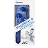 JVC Gumy Sport Wireless Headphones, Blue