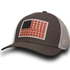 American Flag AU Interlock Pattern Patch Cap