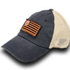 AU Interlock American Flag Cap