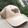Eagle Through A Patch Mesh Cap