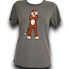 Lauren James Standing Aubie Tee