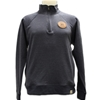 AU Leather Patch 1/4 Zip Pullover