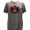 Distressed print Interlocking AU Tee