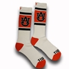 AU White Crew Duster Socks
