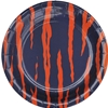 "9"" Tiger Stripe Plates"