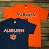 Auburn Tigers with AU Interlock Tee