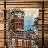 AFGHAN SAMFORD HALL TAPESTRY 54X59 FULL COLOR
