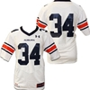 #34 mens Replica White Football Jersey