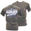 Auburn with War Eagle Banner and State of Alabama Pocket Tee