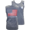 American Flag with Auburn Creed Verse Comfort Colors Tank