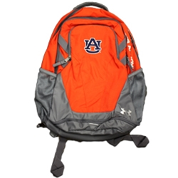 Orange Under armour AU Interlock Hustle Backpack