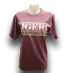 Comfort Colors Distressed Tigers Bar Design Tee