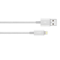 Integra USB-A Charge/ Sync Cable, Silver