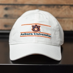 Auburn University Bar Design with AU Interlock Unstructured Fit Cap