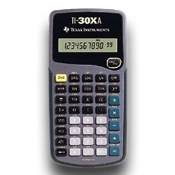 TI 30XA Calculator