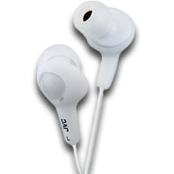 JVC GUMY PLUS EARPHONES WHITE