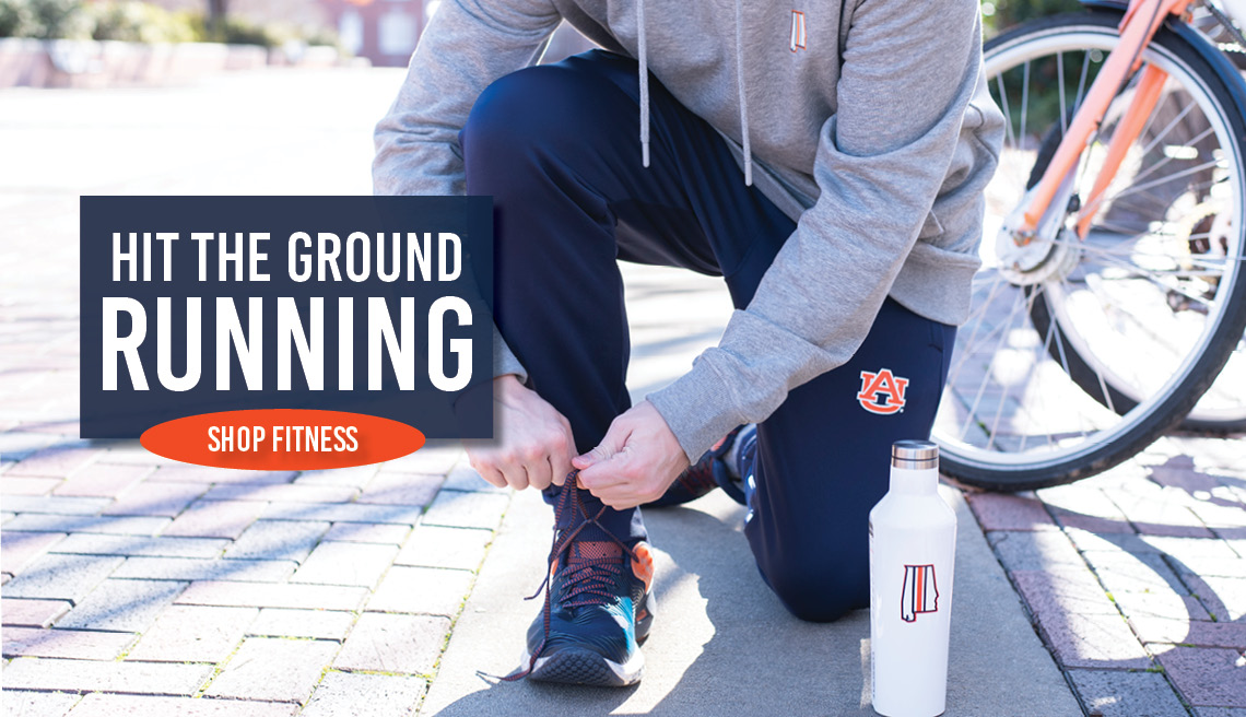 Hit the ground running. Shop Fitness.
