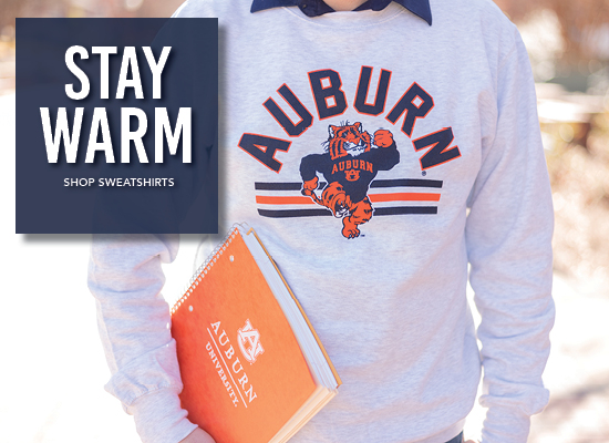 Stay warm. Shop sweatshirts.