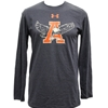 Under Armour Triblend Eagle Through A Long Sleeve Tee, Navy