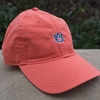 AU Interlock Unstructured Relaxed Twill Cap, Coral