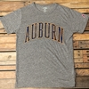 Auburn Arch Distressed Tri Blend Ladies T-shirt