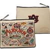 Campus Collage Zipper Pouch