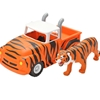 Tiger Striped Pick-Up Truck and Tiger