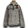 1/4 Zip Youth AU Embroidery Sherpa Fleece