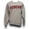 Auburn Strait Embroidery Ash Sweat Shirt