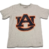 Youth Large Distressed Interlocking AU Tee