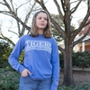 Comfort Colors Tigers Over Auburn University Longsleeve Tee