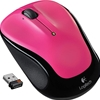 Logitech M325 Wireless Mouse, Hot Pink