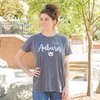 Auburn Script Vintage Wash Ladies Tee