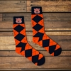 Auburn Argyle  Dress Socks