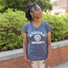 Auburn Seal Ladies Vneck Tee