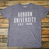 Auburn University Est. 1856 Trilblend Ladies Vneck Tee