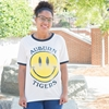 Auburn Smiley Face Tee