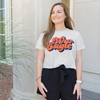Auburn Good Vibes War Eagle Crop Top