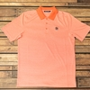 Auburn Beanie Head Tonal Orange Stripe Polo