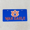 AU War Eagle Navy License Tag