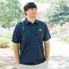 AU Under Armour Navy Playoff Polo
