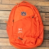 Auburn Under Armour Hustle 4.0 Orange Backpack