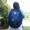 Auburn Under Armour Navy Hustle 4.0 Backpack